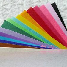 "6"" 12"" Mix Color PACK Non-woven Fabric Acrylic Blend Felt  SQUARES 10 squares"