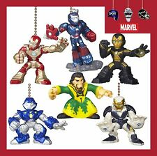 MARVEL SUPER HERO SQUAD IRON MAN 3 MOVIE CEILING FAN PULLS (CHOICE OF 2 FIGURES)