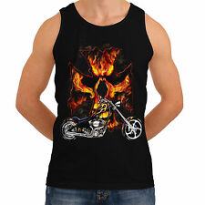 Chopper Motorcycle Biker Mens Women Tank T-Shirt Rider Indian American *th209