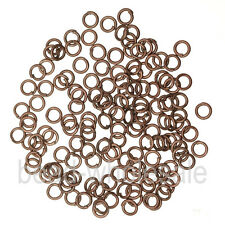 Silver/Gold Plated Open Metal Jumping Rings Finding 3size For Jewelry Making