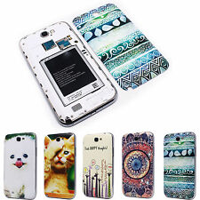Kitty Dog Giraffe Battery Back Door Cover Case for Samsung N7100 Galaxy Note 2