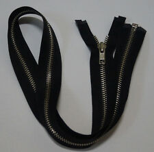 Metal Open End  black zipper #5,Zips,Zipper,DAD Slider(10Inch~30Inch)