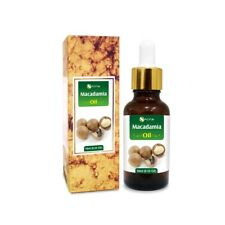 MACADAMIA OIL 100% NATURAL PURE UNDILUTED UNCUT CARRIER OILS 5ML TO 100ML
