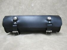 Motorcycle Leather Fork Tool Bag The Leatherworks 95X Made To Order In USA
