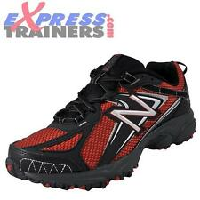 New Balance Mens All Terrain MT411 Trail Running Shoes (Red) * AUTHENTIC *