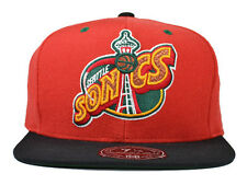 Seattle Supersonics  2Tone ALTERNATE  FITTED Mitchell & Ness NBA  Hat