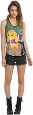 """Simba And Rafiki"" Disney's The Lion King Juniors Racer Back Tank Top Free Ship"
