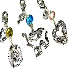 Buy 2 Get One Free-Elephant,Love heart,Love Birds-Handbag charm dangle,key ring