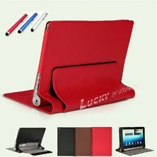 """3in1 Leather Case Cover Skin Protector for 10.1"""" Lenovo Yoga B8000 Tablet+Film+P"""