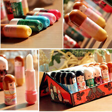 1PC New Cute Japan Doll Lip Balm Natural Organic Baby Girl Lip Balm Lipstick