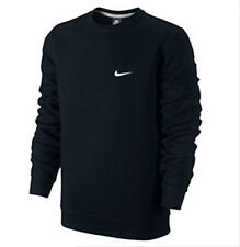 Nike Men's Classic Crew Fleece Sweatshirt - Black