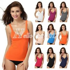 Sexy Modal Push Up Padded Bras Belted Tube Tank Tops Casual Sleeveless Camisole