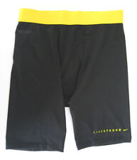 """The Nike men's Livestrong Pro Combat 6"""" Compression Shorts Sliders 450837 011"""