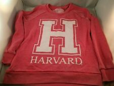 NEW HARVARD CRIMSON WOMENS SWEATSHIRT VINTAGE LOOK LICENSED NCAA SUPER SOFT NWT