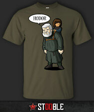 Hodor and Bran T-Shirt - New - Direct from Manufacturer