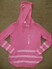 VICTORIA'S SECRET PINK SLOUCHY PULLOVER TUNIC HOODIE SWEATSHIRT NWT XS S M L