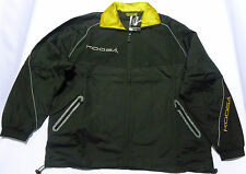 KOOGA CLUB SUIT PITCHSIDE/TRAINING RUGBY JACKET-BLACK/GOLD
