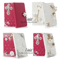 New Hot Sell Bling Diamond Wallet PU Leather Case For Sony Xperia C S39h C2305 a