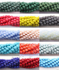 New! High Quality Czech Glass Faceted Rondelle Bead 4/6/8/10mm 15 Colors U Pick