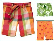 NWT big GIRLS gymboree BATIK SUMMER PLAID BERMUDA BIKE SHORTS~U-PICK