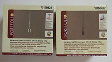 PORTFOLIO Recessed Light Conversion Kit w/ Shade Fitter~You Choose~New in Box