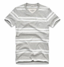 Abercrombie & Fitch Men Mountain Pond Moose V-Neck Tee T-shirt - Free $0 Ship