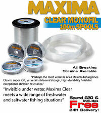 Maxima - Clear Fishing Line All Sizes