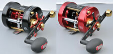 Spro Salty Jerk 6000 LH Linkshand Multirolle Red Black Baitcast Salzwasserfest