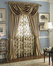 Luxurious HILTON WINDOW TREATMENT,window curtain Royal Panel or valance