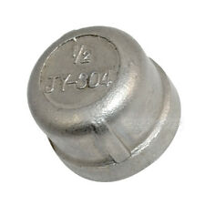 "1/4"" -2"" Cap Female Stainless Steel SS304 Threaded Pipe Fitting NPT"