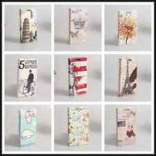 Classic Vintage Cute PU Leather wallet slots Cover Case For HTC Desire 200