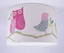 Lampshade Handmade in UK - Harlequin 'What A Hoot' Wallpaper
