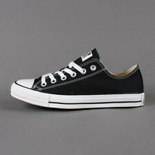 CONVERSE CHUCK TAYLOR BLACK/WHITE LOW TOP CANVAS NEW IN BOX SIZES 3.5 TO 12