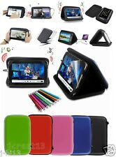 "Speaker Leather Case Cover+Gift For 7"" Zeepad 7.0 Allwinnwer A13 tablet GB5"