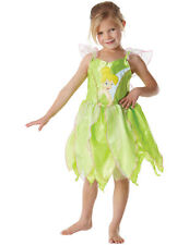 Child Disney Tinkerbell Neverland Fairy Girls Fancy Dress TV Costume