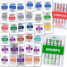 Complete Range Of Klasse Sewing Machine & Serger/Overlock Needles 36 Types