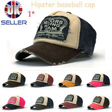 Men Women Retro coating letters patch Baseball Hats Cap / 8 Colours / 2 Designs
