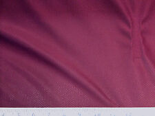 Discount Fabric Polyester Athletic Sports Mesh Burgundy LY945