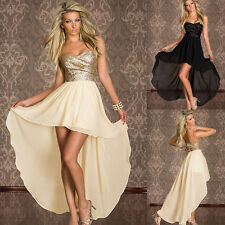 Sexy Women Party Dress Club Dance Sequin Night Cocktail Dance Wear Costume Hot
