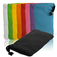 SOFT FABRIC DRAWSTRING POUCH COVER CASE SKIN SOCK FOR HUAWEI ASCEND Y330 PHONE
