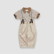 2pcs Baby Boy Toddler Kids short sleeve T-shirt+ Pants  rompers Outfit Clothes