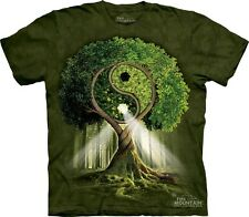 Yin Yang Tree Authentic The Mountain Adult T-Shirt