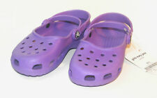 Crocs Girls Mary Jane Purple size J1=M1W3