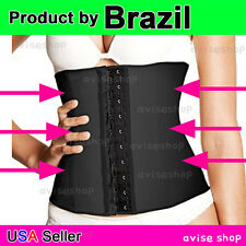 Waist cincher Belt Workout Original Latex brazilian Body Shapewear Tummy Girdle