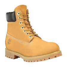 Timberland Mens Icon 6 Inch Premium Work Boots Style 10061 / 6543A Wheat