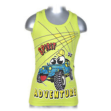 Boys Shirts (Pack Of 5) Underwear Vest Night Shirt Children, 7779ADV