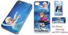 Disney Frozen phone case cover princess Elsa Olaf for Samsung iPhone and HTC