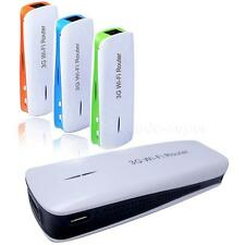 5in1 Mini Portable 150Mbps 3G WIFI Mobile Wireless Router Hotspot Power Bank