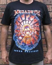 Official Mens Megadeth Super Collider Dave Mustaine Licensed Gildan Shirt RRP$48