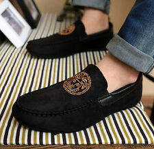 Men Suede Casual  Spring Zapato Slip Ons Loafer Sneakers Moccasin Driving Shoes